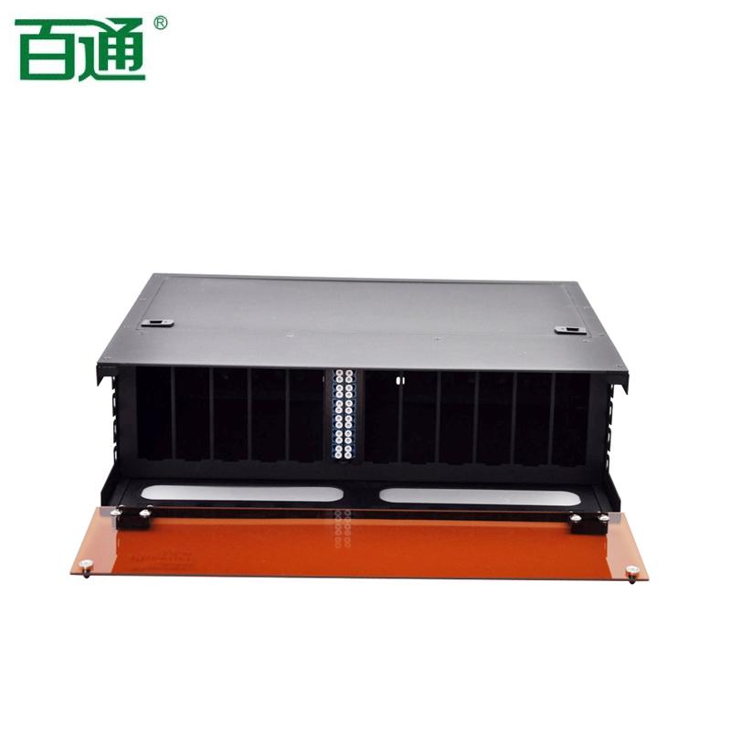 MPO-高密度3U光纤盒