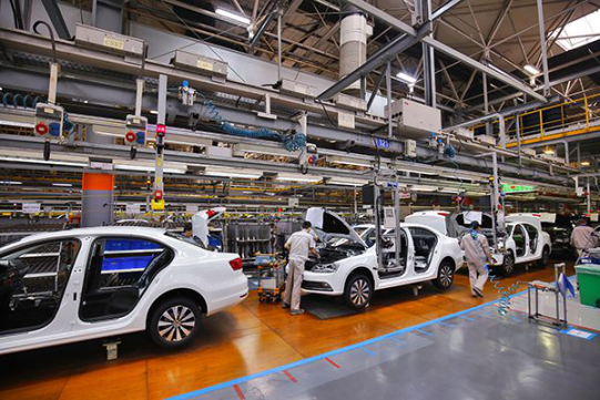 成都吉利汽车部件车间升级改造工程